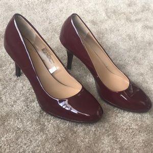 Merona Deep Red Heels